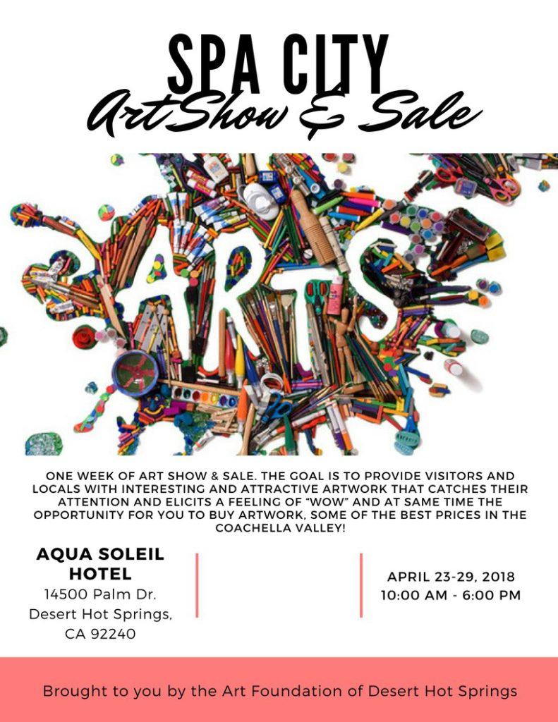 Spa City Art Show and Sale - Desert Hot Springs, CA