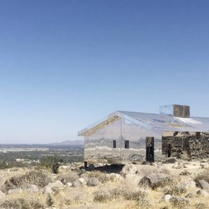 The Mirage House, an exhibit from Desert X